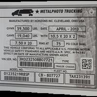 Metallfoto markeering / tootesilt